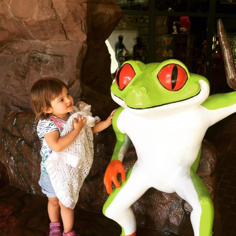 Toddler Frog