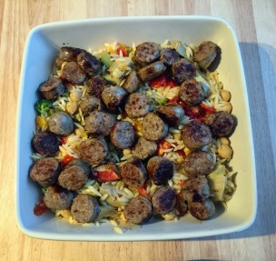 Orzo with Sausage