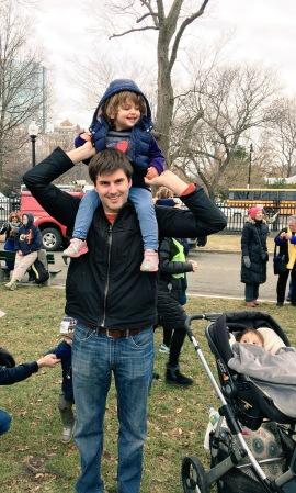dad women's march boston